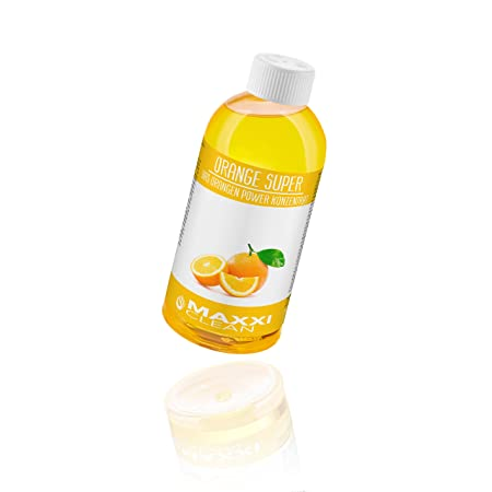 Maxxi Clean Orangenreiniger Konzentrat Reinigungsmittel 500 ml - Universalreiniger als Glasreiniger, WC Reiniger, Badreiniger