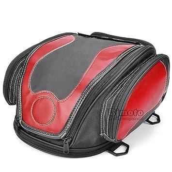b2b0788cfae2 BJ Global High Quality Motorcycle Saddle Bag Oil Tank Tail Helmet Saddle  Bags Tool Travel Luggage Racing Travel Bag  Amazon.co.uk  Car   Motorbike