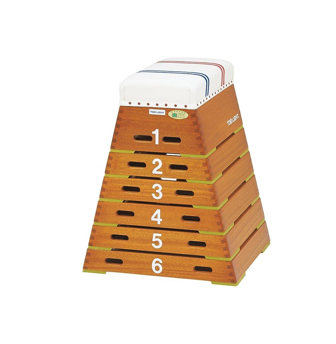 統治する機知に富んだ脱臼するエバニュー とび箱小型8段(指導ライン入り) EKF304