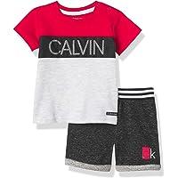 Calvin Klein Boys 2 Pieces Shorts Set
