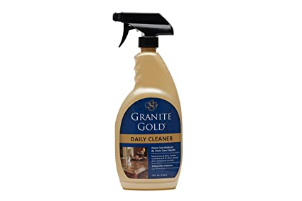 Granite Gold Daily Cleaner Spray   Streak Free Stone Cleaning Formula, Made  In The