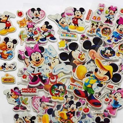 HAOHAN Lovely Mouse 3D Dimensional Sticker Cartoon PVC ...
