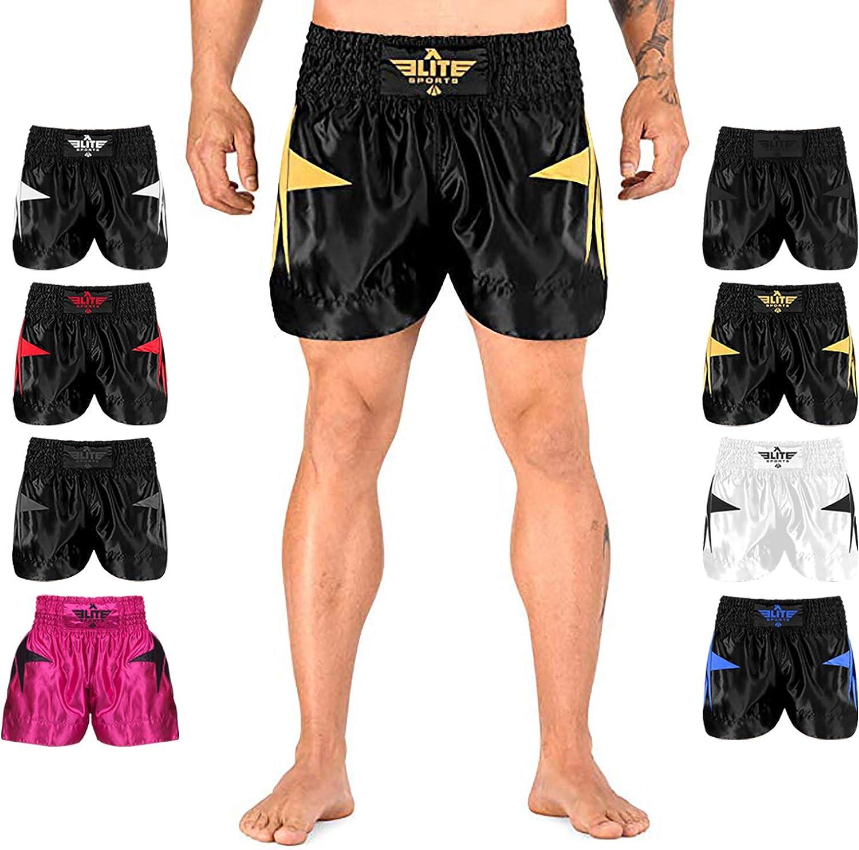 Boxe Tha/ï Fitness Extiff Short de Muay Tha/ï Arts Martiaux Kick Boxing MMA