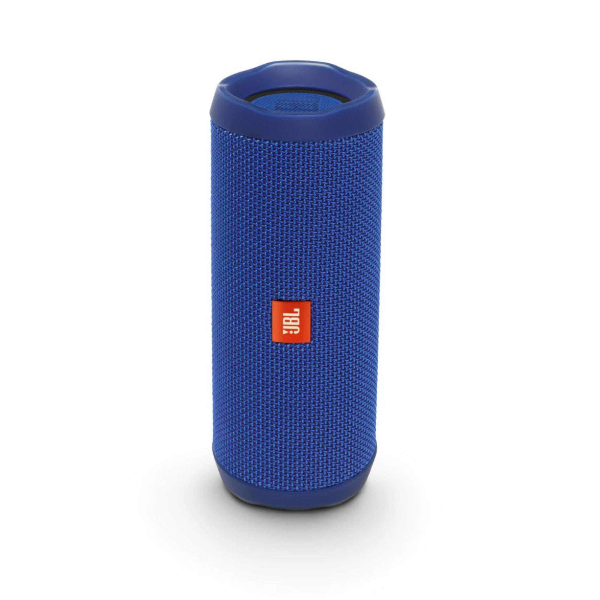 JBL Flip 4 Bluetooth Portable Stereo Speaker - Blue