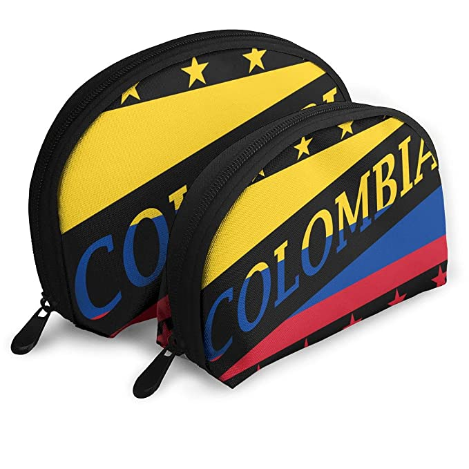 WHAT-MBag Bandera de Colombia Portátil Shell Maquillaje ...