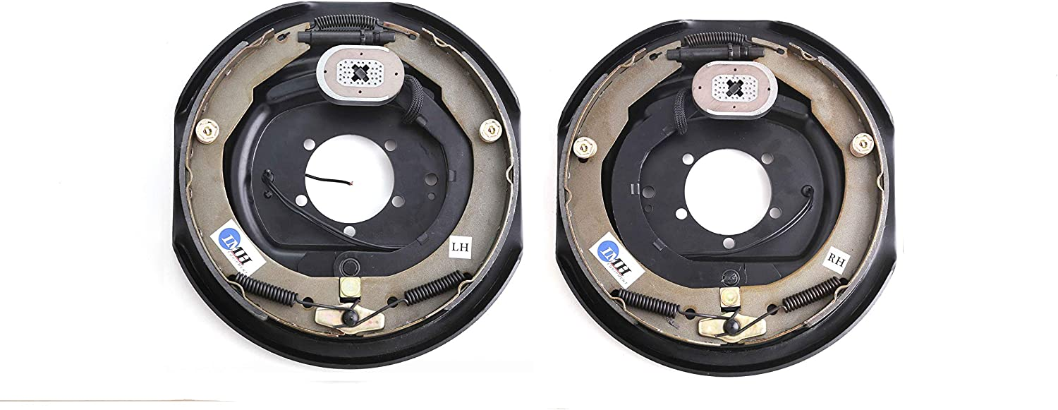 """in Pair IMH Equipment 12/"""" x 2/"""" Trailer Electric Brake 1 Right + 1 Left"""