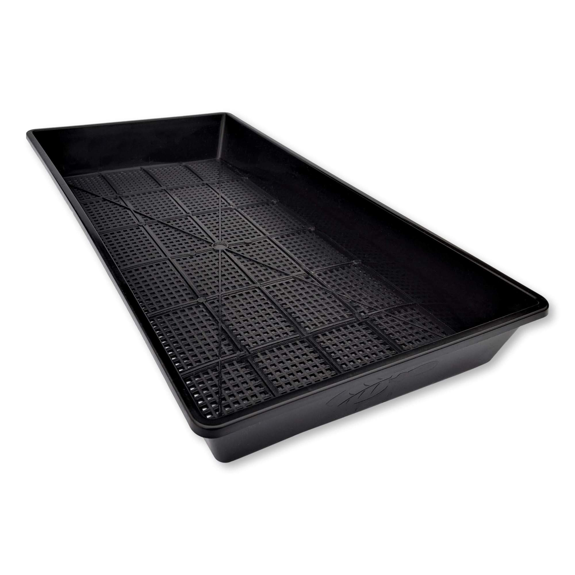 Hydroponic and Fodder Systems 5 Pack Trays for Soil Blocks Wheatgrass