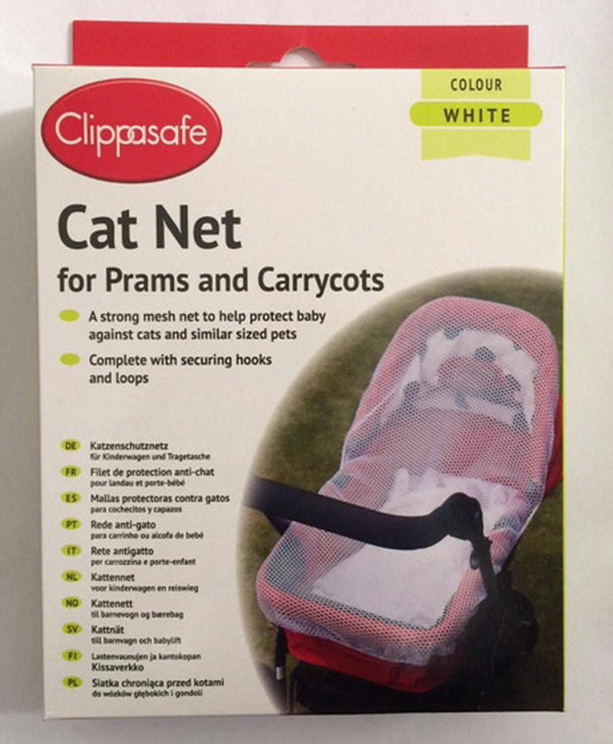 Cat Net Baby Protection Pram Carrycot Mesh Pushchair Safety Net Clippasafe