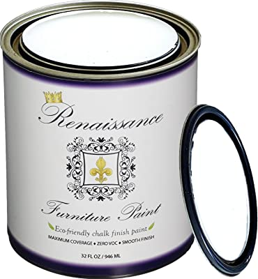 Renaissance Chalk Finish Paint - Chalk Furniture & Cabinet Paint - Non Toxic, Eco-Friendly, Superior Coverage