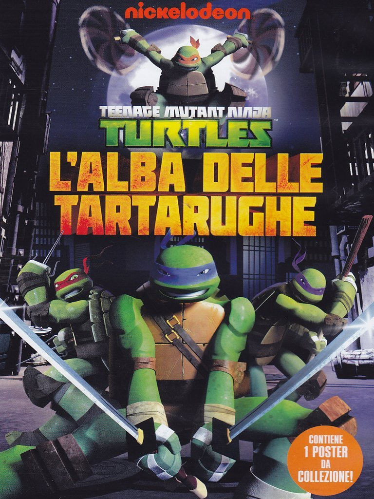 Teenage Mutant Ninja Turtles: LAlba Delle Tartarughe Dvd ...