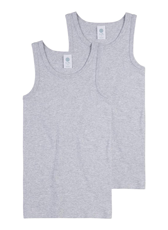 Sanetta Jungen Unterhemd im Doppelpack