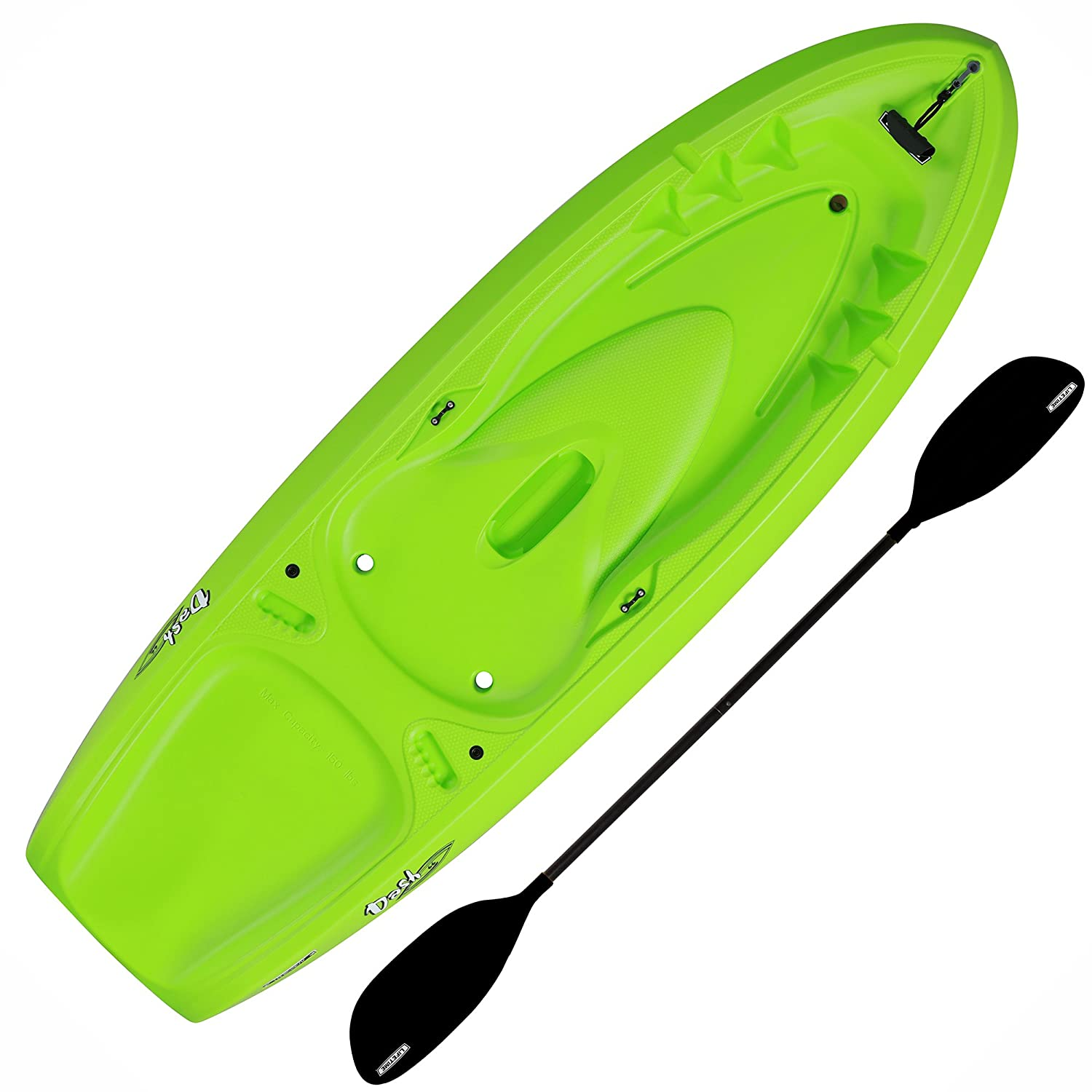 Lifetime Dash 66 Youth Kayak Paddle Included , Lime Green