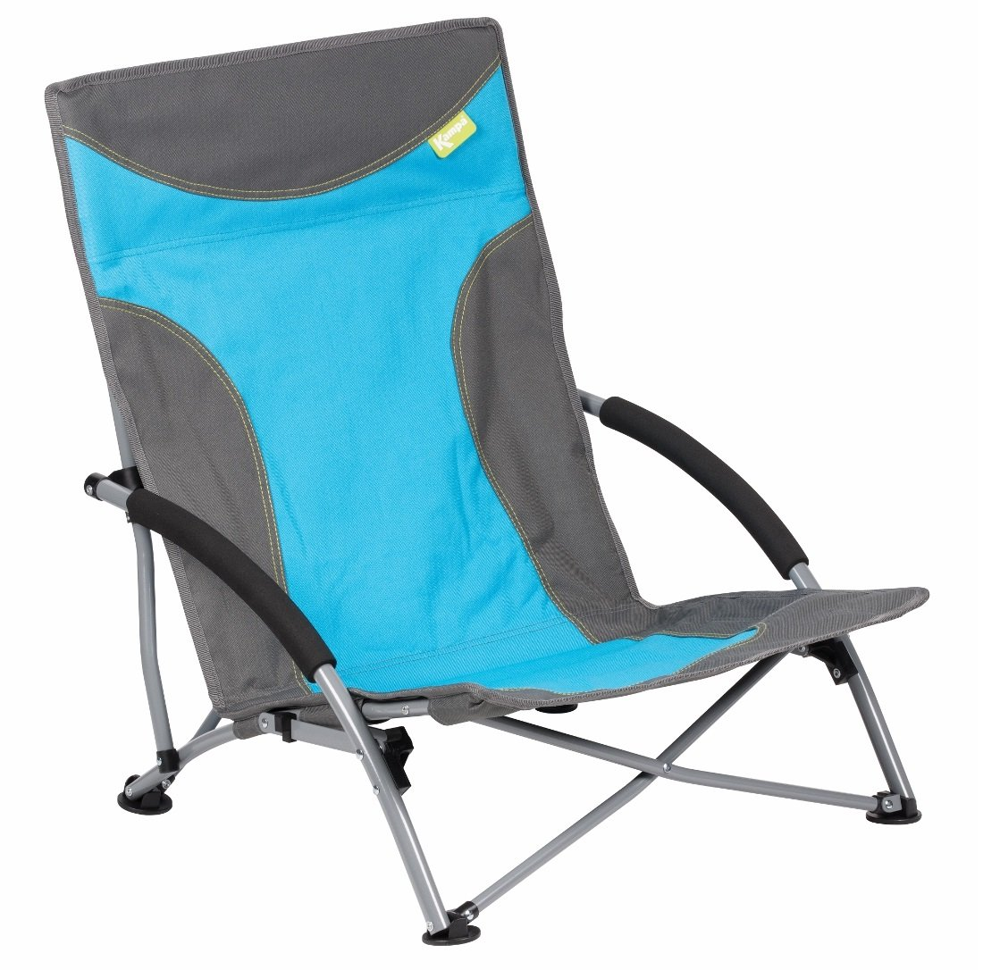 Kampa Sandy High Back Low Chair/Beach/Garden/Camping Chair Seat