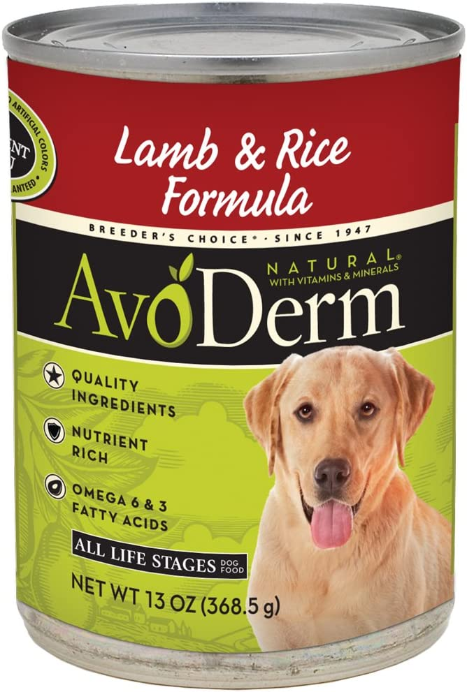 AvoDerm Natural All Life Stages Dry Wet Dog Food, Grain Free