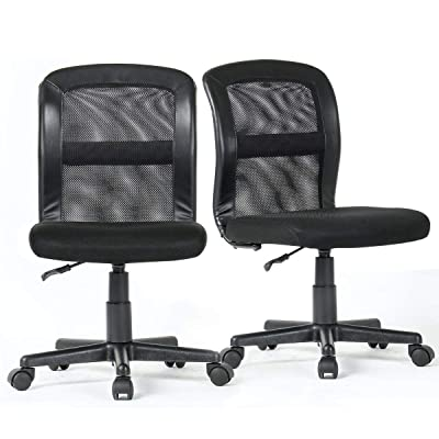Grey PU Leather Executive Office Chair Swivel Mid Back Modern Desk with Casters Height Tilt Adjustable Upholstered Armchair Rollerblade Stool 360 Rolling Thick Cushion Computer Chair BIFMA SGS Passed