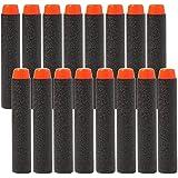 KYG 200er Darts Nachfüllpack für N-Strike Elite Spielzeugblaster für Nerf Zubehör 7,2cm Schwarz