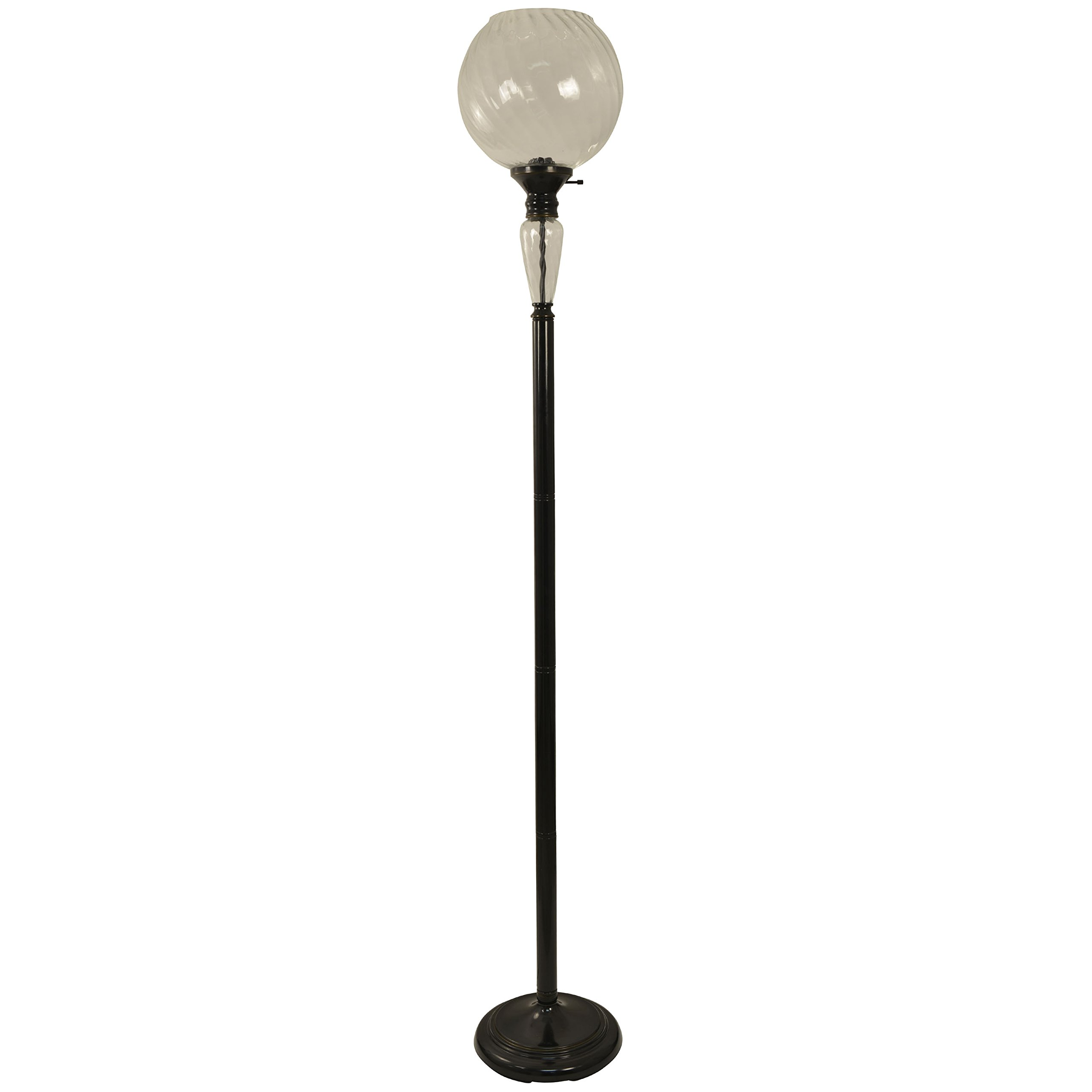 Décor Therapy PL3816 Floor Lamp, Aged Bronze