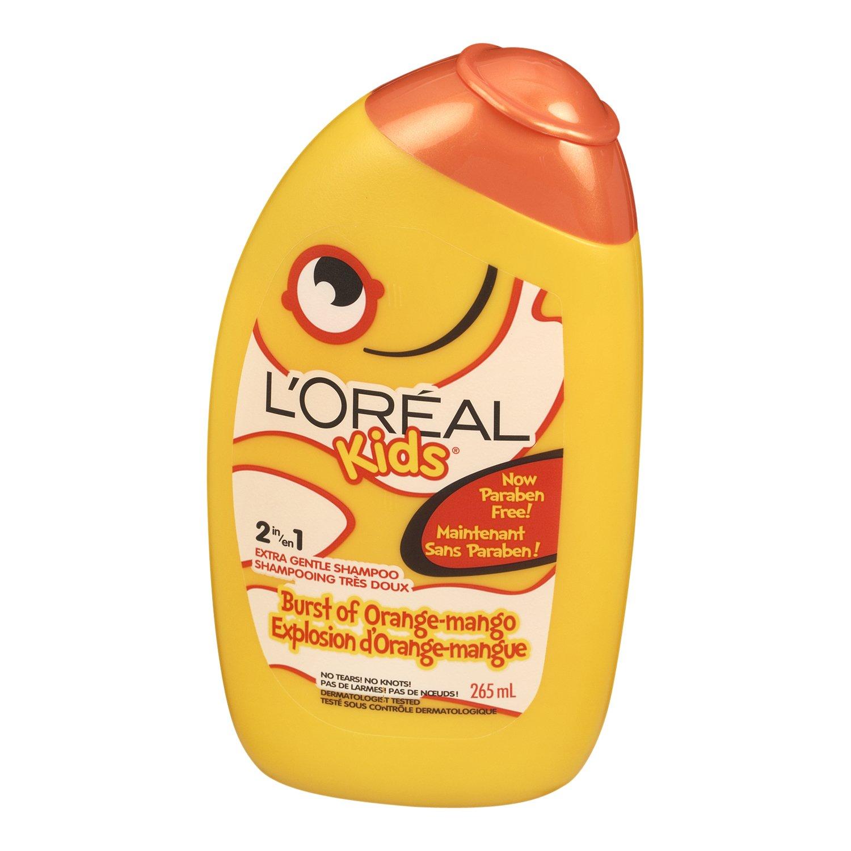 L'Oreal Paris Kids Strawberry Smoothie 2 in 1 Extra Gentle Shampoo, 265-Milliliter L'Oreal Paris