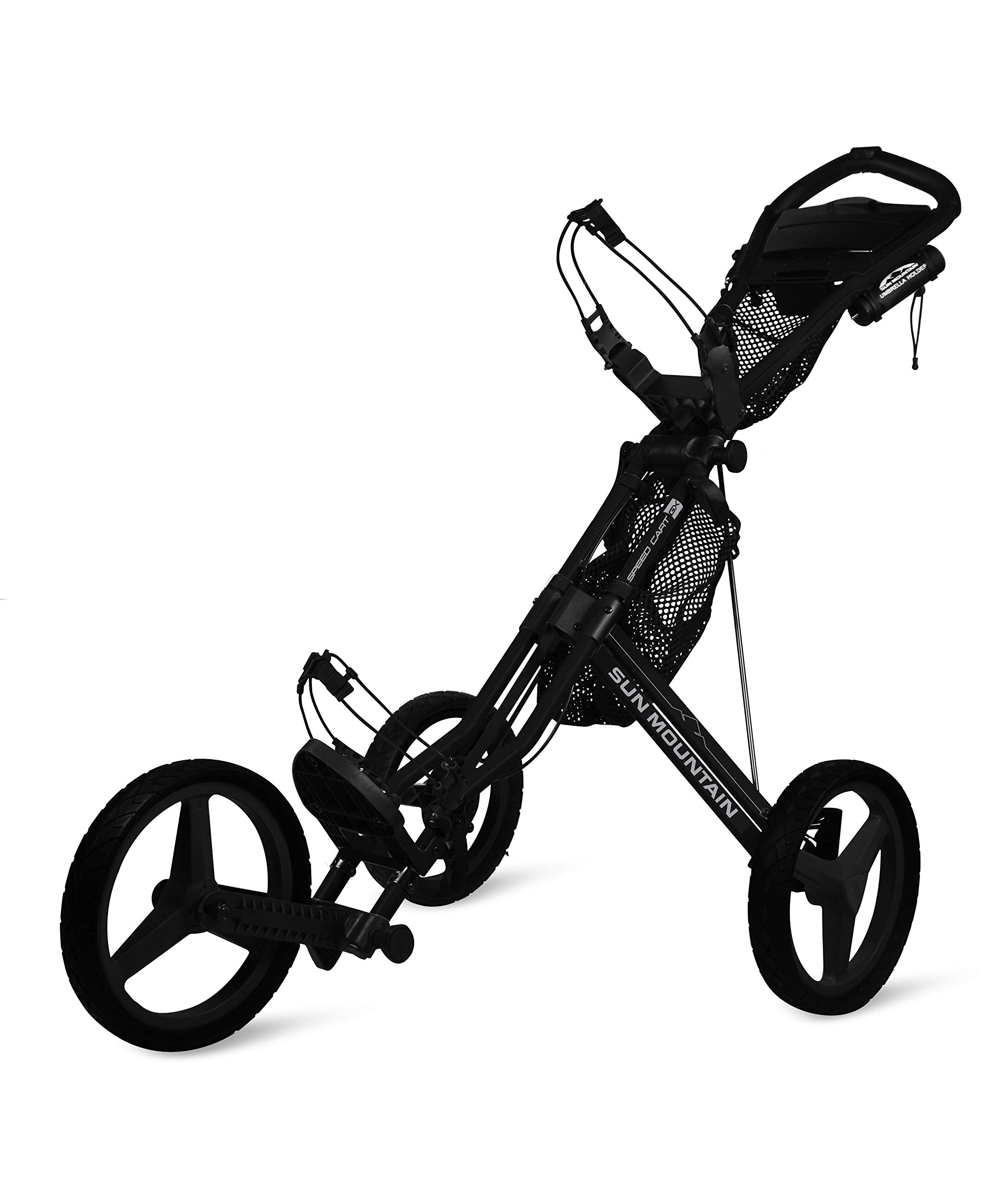 Sun Mountain Speed Cart Gx Push Cart Black/Black