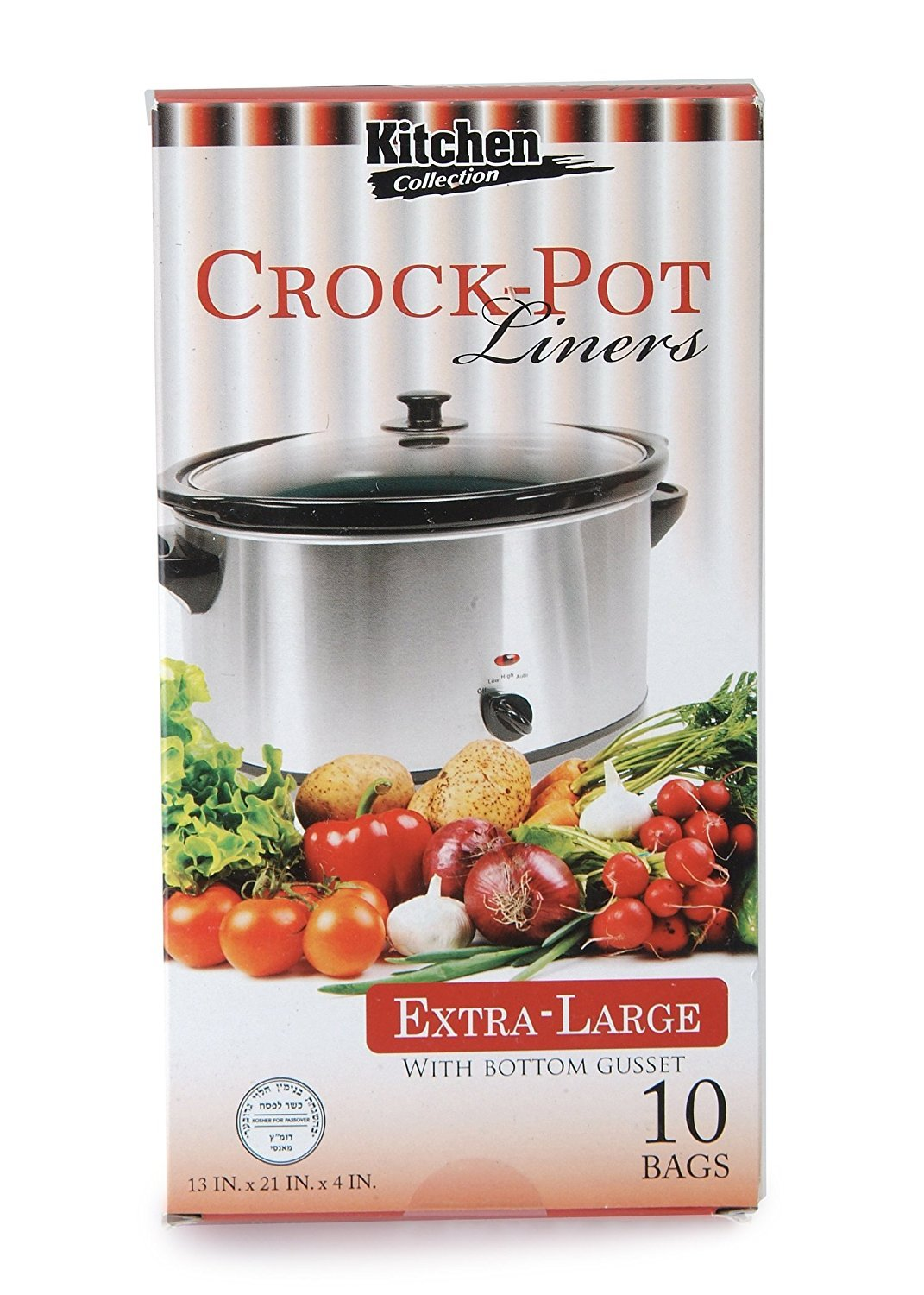amazon com kitchen collection crock pot liners extra large 10 amazon com kitchen collection crock pot liners extra large 10 liners baking mats kitchen dining
