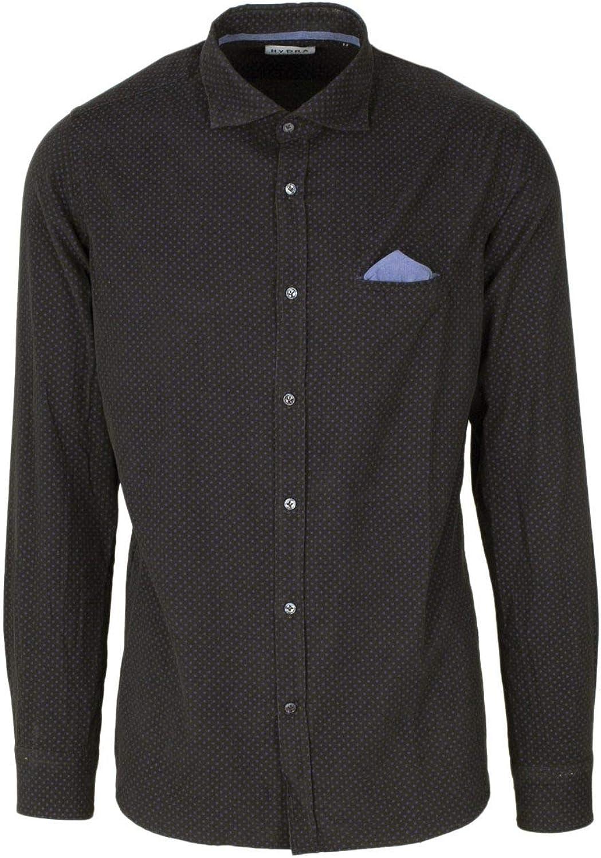 HYDRA CLOTHING Luxury Fashion Mens HYD16BROWN Brown Shirt Season Permanent