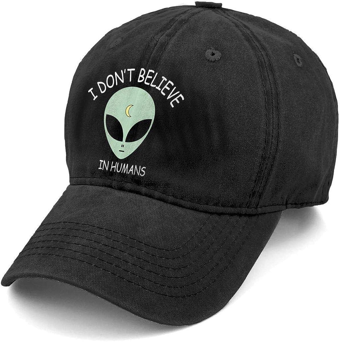 Science Care What You Believe Adjustable Denim Hat Adult Vintage Baseball Cap