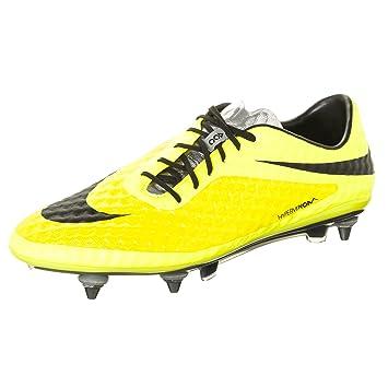 Nike - Botines de Fútbol para Caballero Hypervenom Phantom SG Pro - 599851-700 - Amarillo Vibrante/Negro-Volt Ice, 44.5 / 10.5 US: Amazon.es: Deportes y ...