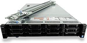 Dell PowerEdge R730xd 12-Bay LFF 2U Server with 2X Rear Flex Bays, 2X Xeon E5-2667 V4 3.2GHz 8 Core, 32GB DDR4 RAM, PERC H730p, 12x 1TB 7.2K SAS 3.5 Drives, 2X 10GbE, Rails (Renewed)