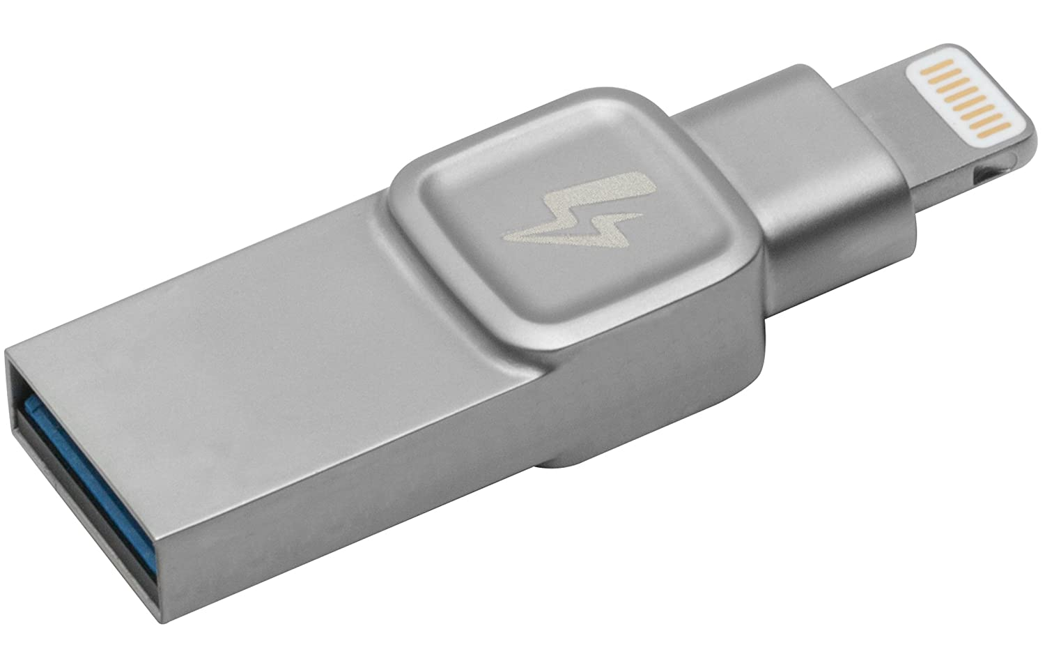 f499cccb270 Kingston Bolt USB 3.0 Flash drive Memory Stick for Apple iPhone & iPads  with iOS 9.0+, External Expandable Memory Storage, DataTraveler Bolt Duo,  ...