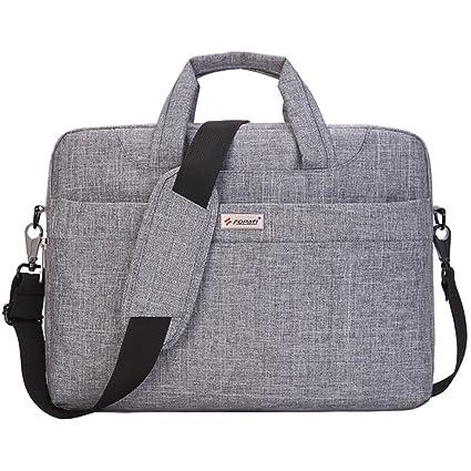 Ordenador portátil bolsa bandolera para portátil de 14 (Awland resistente al agua para el hombro