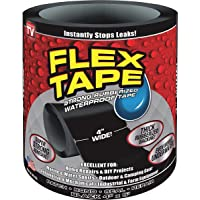 "Flex Seal Flex Tape Black 4"" X 5'"