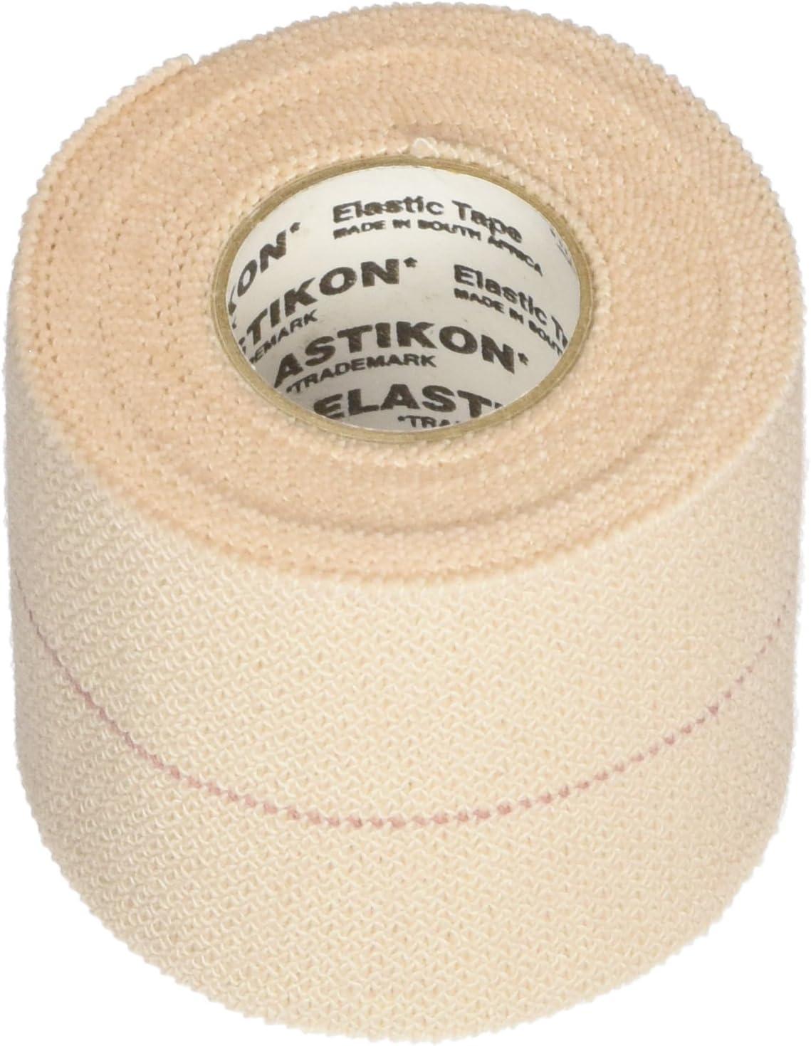 B000GCOI1O J&J HEALTHCARE First Aid Elastikon ElasticTape - 2 Inches X 2.5 yards - 6 rolls 71IIWQ4553L
