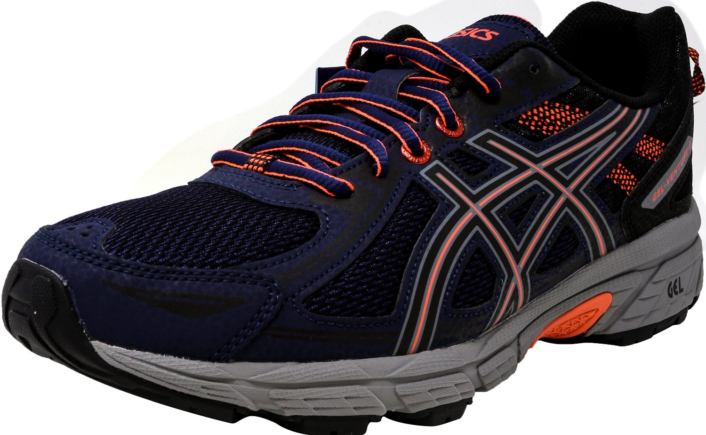 ASICS Women's Gel-Venture 6 Running-Shoes,Indigo Blue/Black/Coral,8.5 Medium US