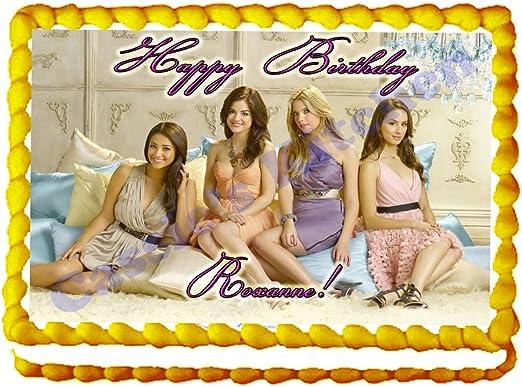 Amazon.com: Pretty Little Liars 1/4 Hoja Photo torta de ...