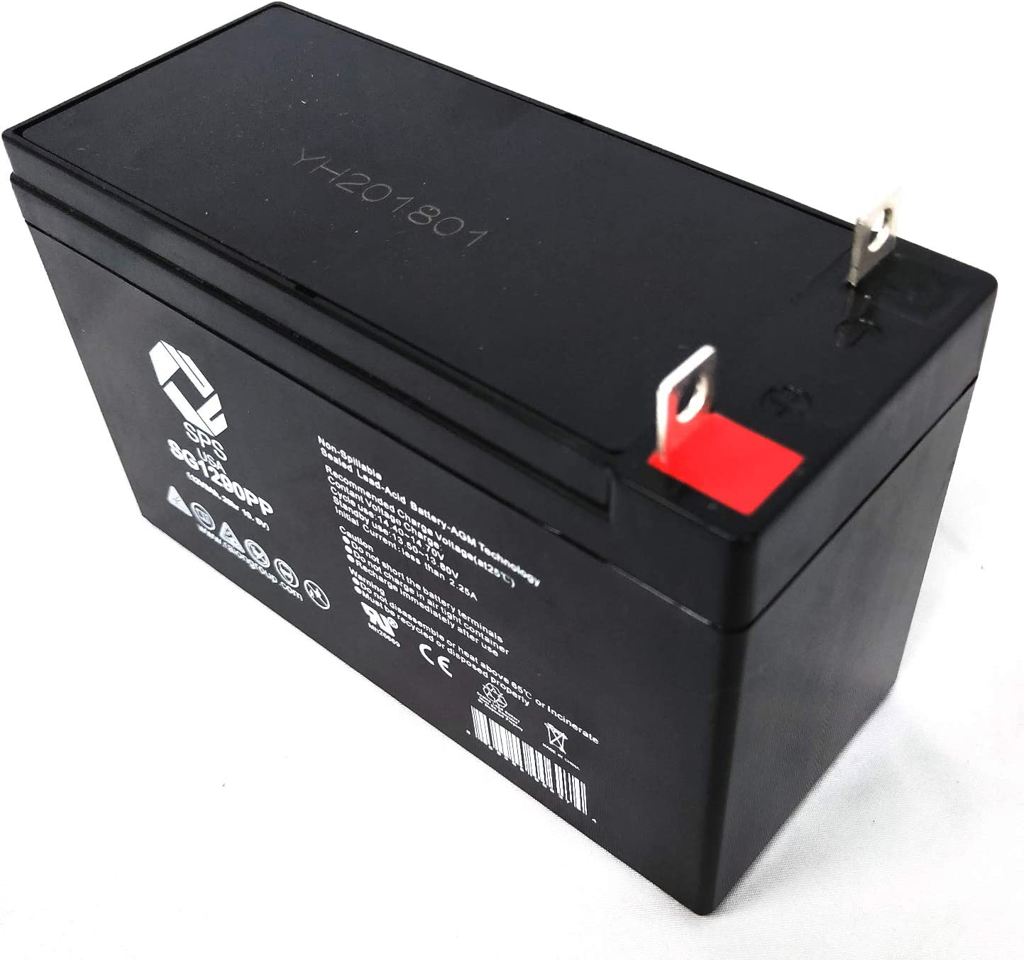 SPS Brand 12V 9Ah Replacement Battery for Wagan Tech 2467 300 Amp Pack 1