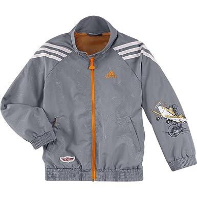 billig Adidas jacke gr 140 schwarz grau orange liefert