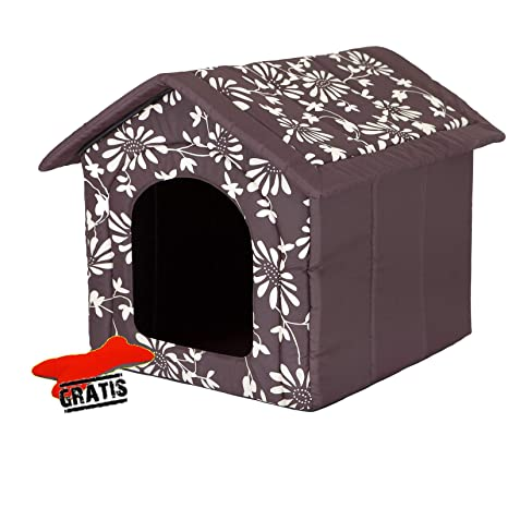 Hobbydog budbwk1 Perros Casa + Suave Juguete Gratis para Perros Gato Cueva Cama para Perros Dormir