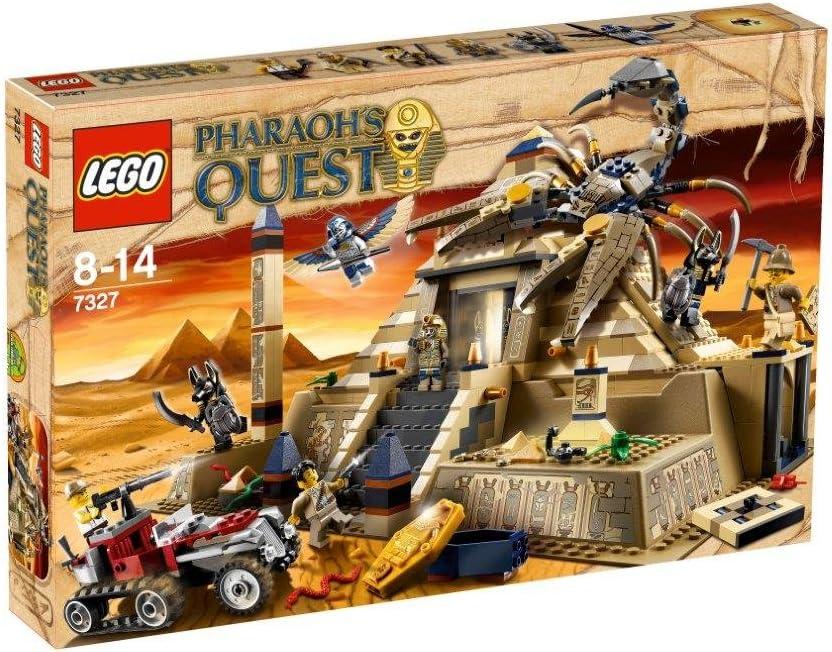 LEGO NEW 2011 PHARAOH'S QUEST # 7327 Scorpion Pyramid 792 pcs