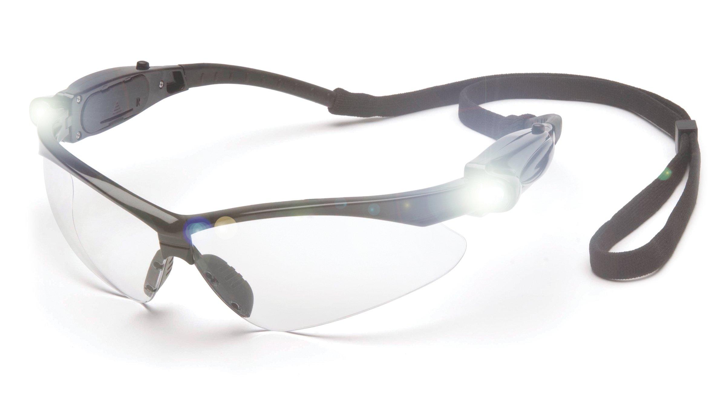 Pyramex SB6310SPLED LED Safety Glasses with