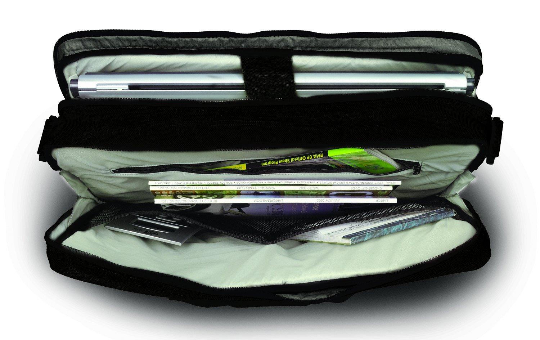 Naneu MT13 Military Tech Slim Messenger Laptop Case (Black)