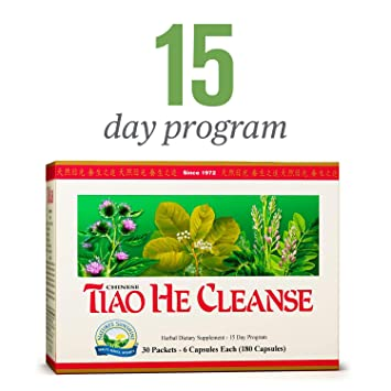 Nature's Sunshine Tiao He Herbal Cleanse | Cleanse and Detox The Colon and  Liver with