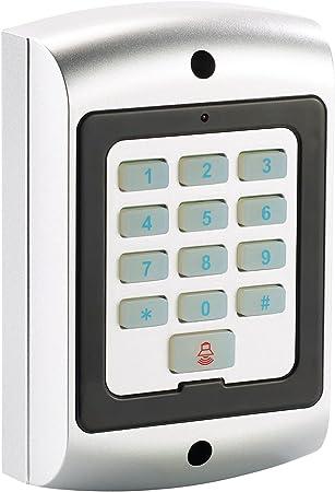 VisorTech Sistema de alarmas Tonto: Maniquí del Teclado del Sistema de Alarma a Prueba de Salpicaduras, IP44 (Alarma Tonto)