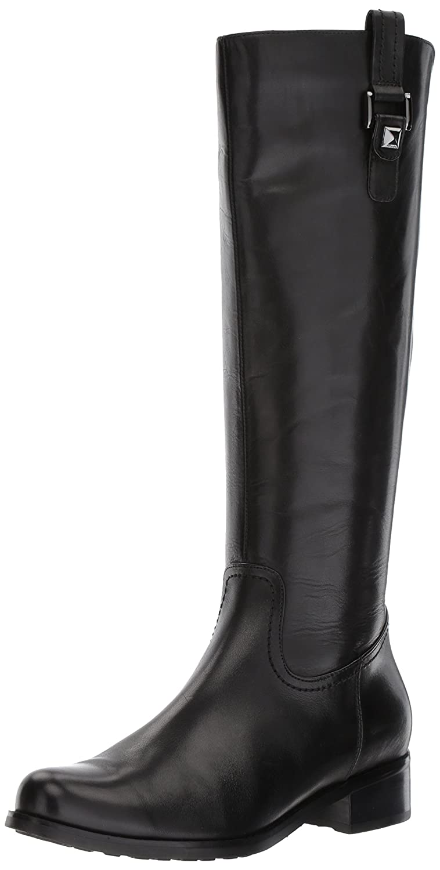 Blondo Women's Velvet Waterproof Riding Boot B07233D494 12 B(M) US|Black 001