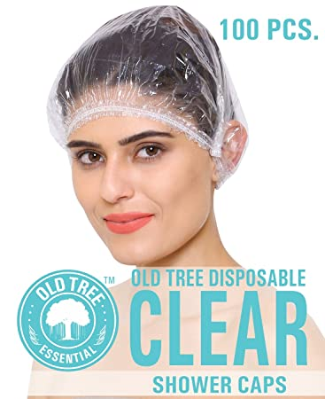 Old Tree Disposable Shower Cap Pack Of 100 Shower Caps