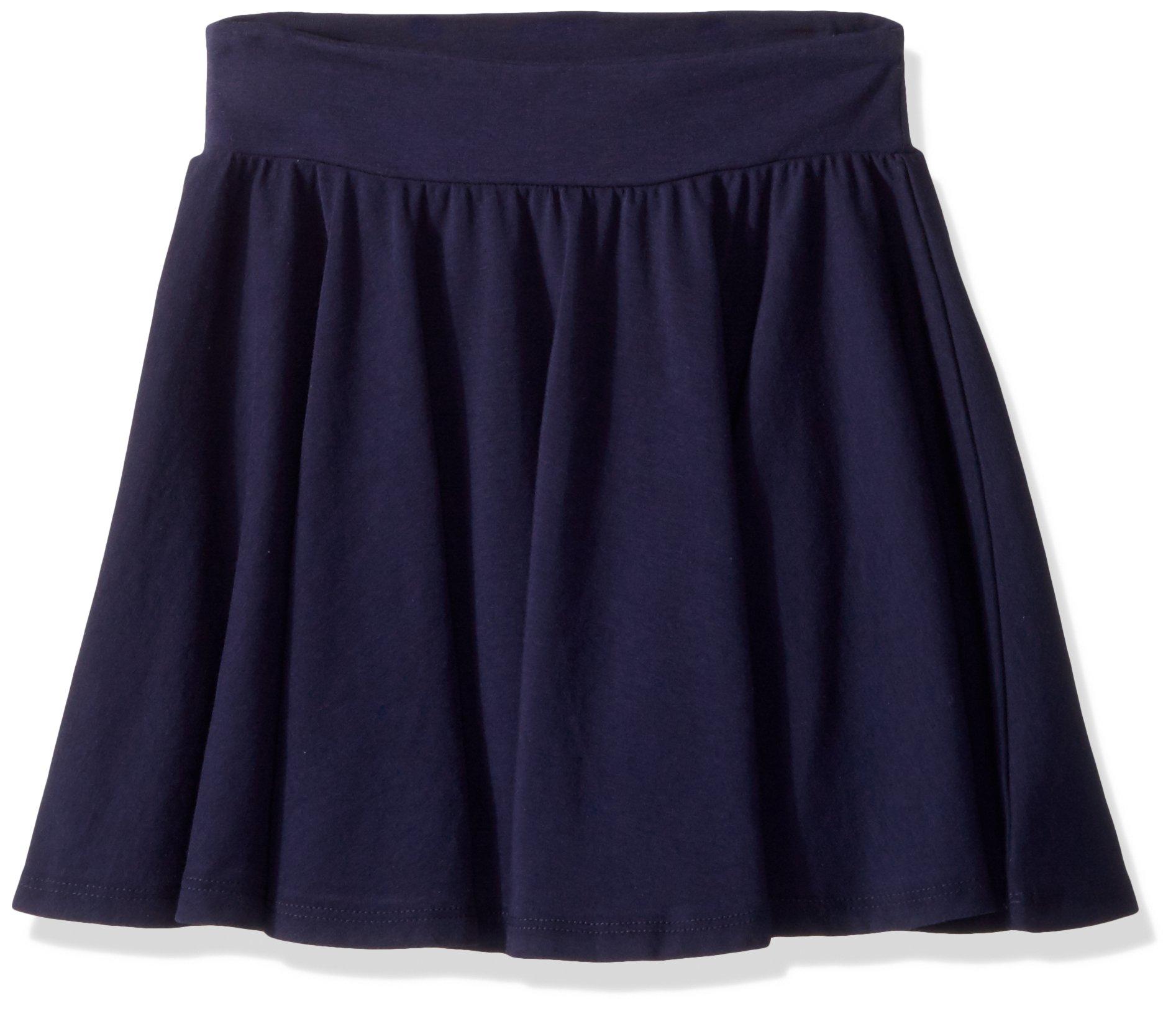 Splendid Big Girls' Twirly Skirt, Navy, 12