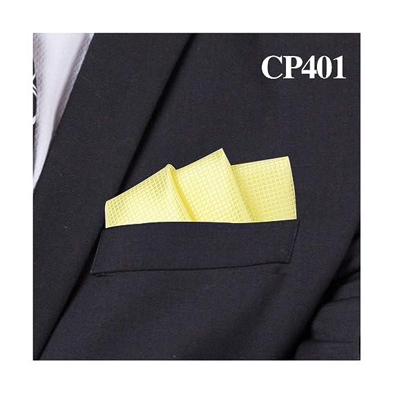 Comradesn Trajes de moda Pañuelo de bolsillo para hombres ...