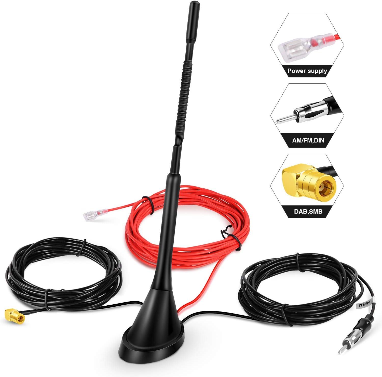 Dab Antenne Autoantenne Smb Adapter Booster Verstärker Elektronik