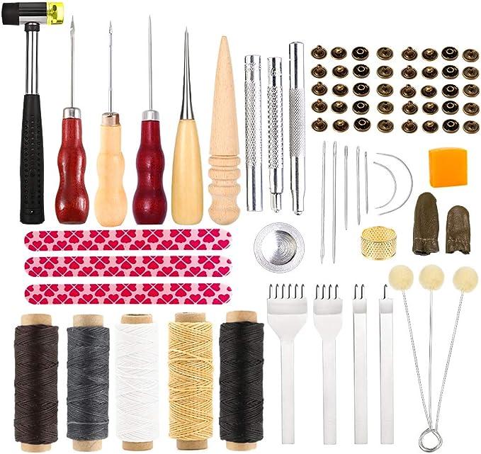 25pcs Ledertasche manuelle Schraubendreher Bit Set Handy Repair Tool R2