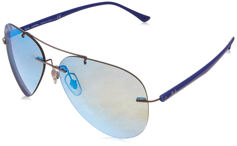 f8f2c4bde1ea1 Ray-Ban Mens Sunglasses (RB8058) Titanium