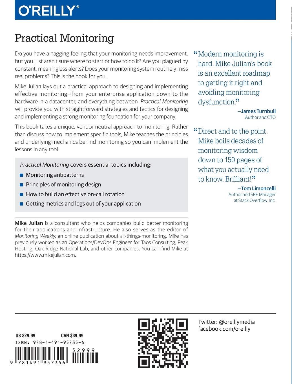 Practical Monitoring: Amazon co uk: Mike Julian